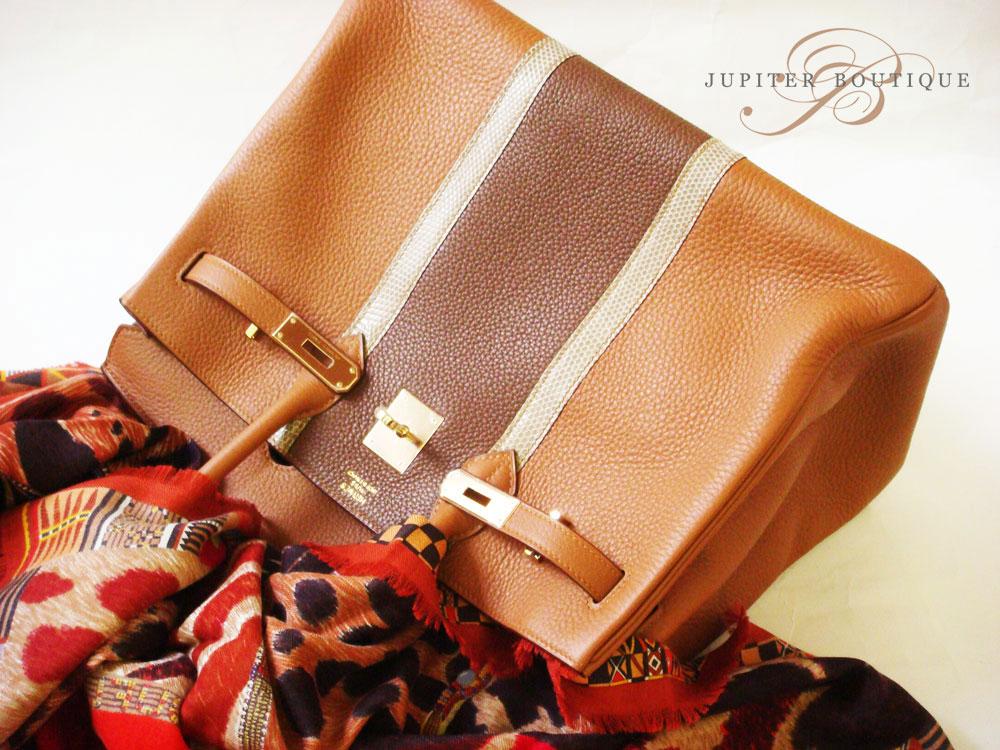 Hermes Birkin Club tri colour combination 35CM GOLD - Jupiter Boutique 1ead05d9e4ff0