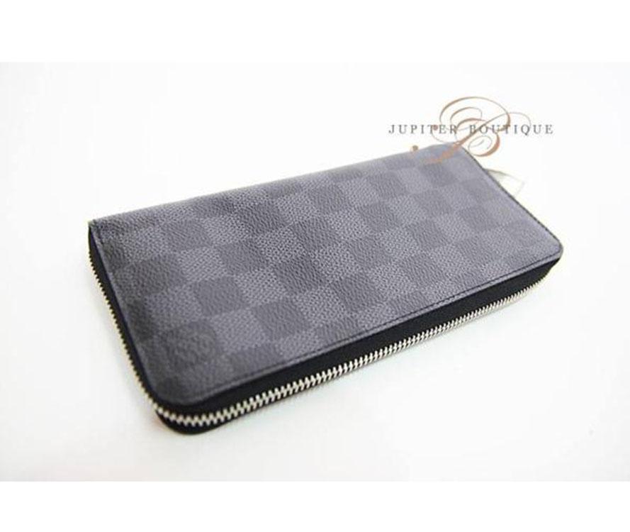 ... Wallets LOUIS VUITTON Damier Graphite Vertical Zippy Long Wallet  N63095.    7387b61c51bfa