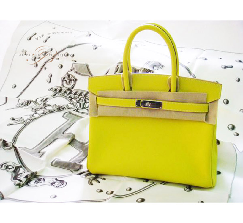 4a7ccb966916 ... get handbags authentic hermes birkin 35cm lime epsom leather silver  hardware year p. 9d08a 285d6