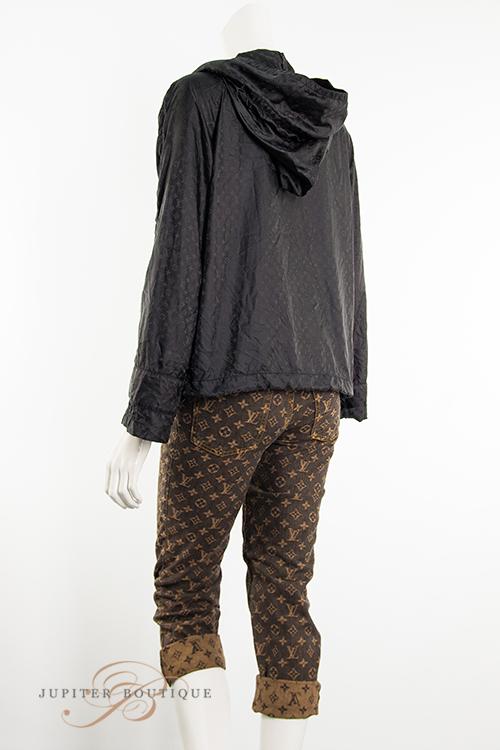 Louis Vuitton Brown Denim Cropped Pants Jupiter Boutique